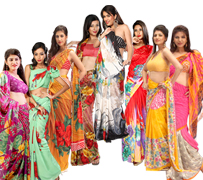 9 Saree Combo Collection